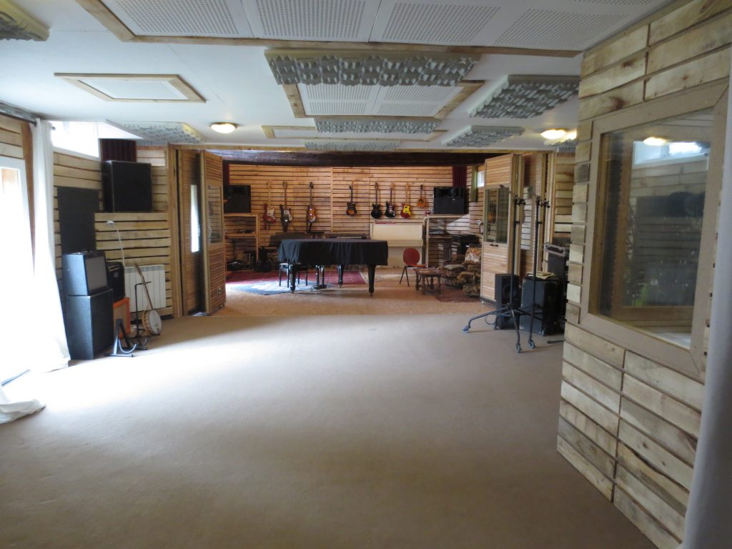 studio r sidentiel la bo te meuh musique et. Black Bedroom Furniture Sets. Home Design Ideas