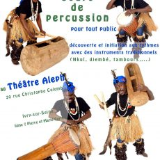 Ateliers percussions